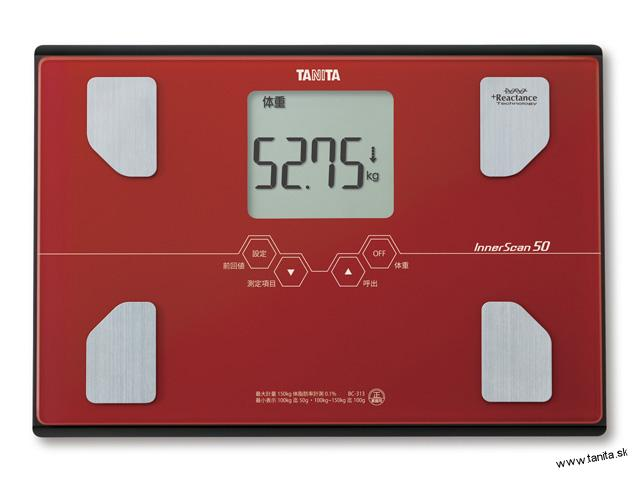 cec63b254 Osobné váhy s telesnou analýzo | Tanita BC-313 T - osobná digitálna ...