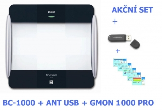 Tanita BC 1000 + software TANITA FIT + USB Ant+